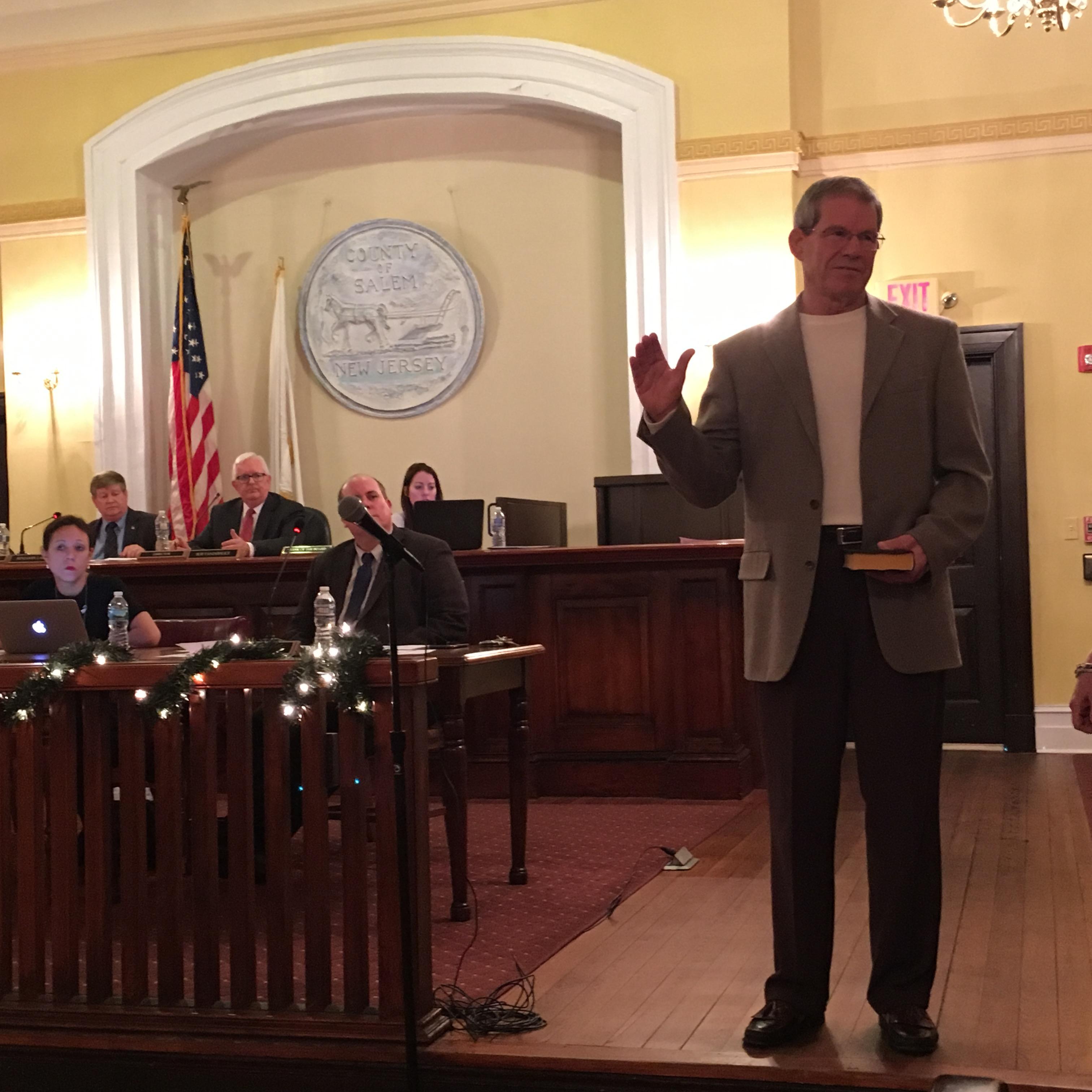 Retired Teacher, Coach Scott Griscom Joins Salem County Freeholder Board