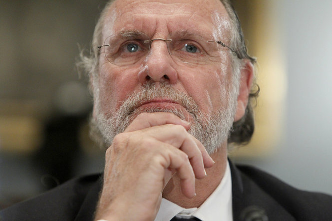 Corzine slapped with $5M fine over MF Global collapse