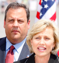 Christie and Guadagno