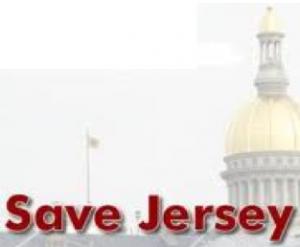 Save Jersey Vintage Banner, Circa 2009