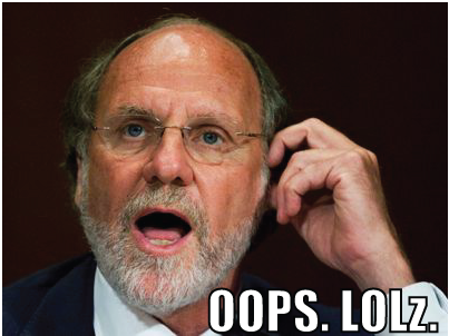Corzine Subpoenaed by Congress on Financial Scandal