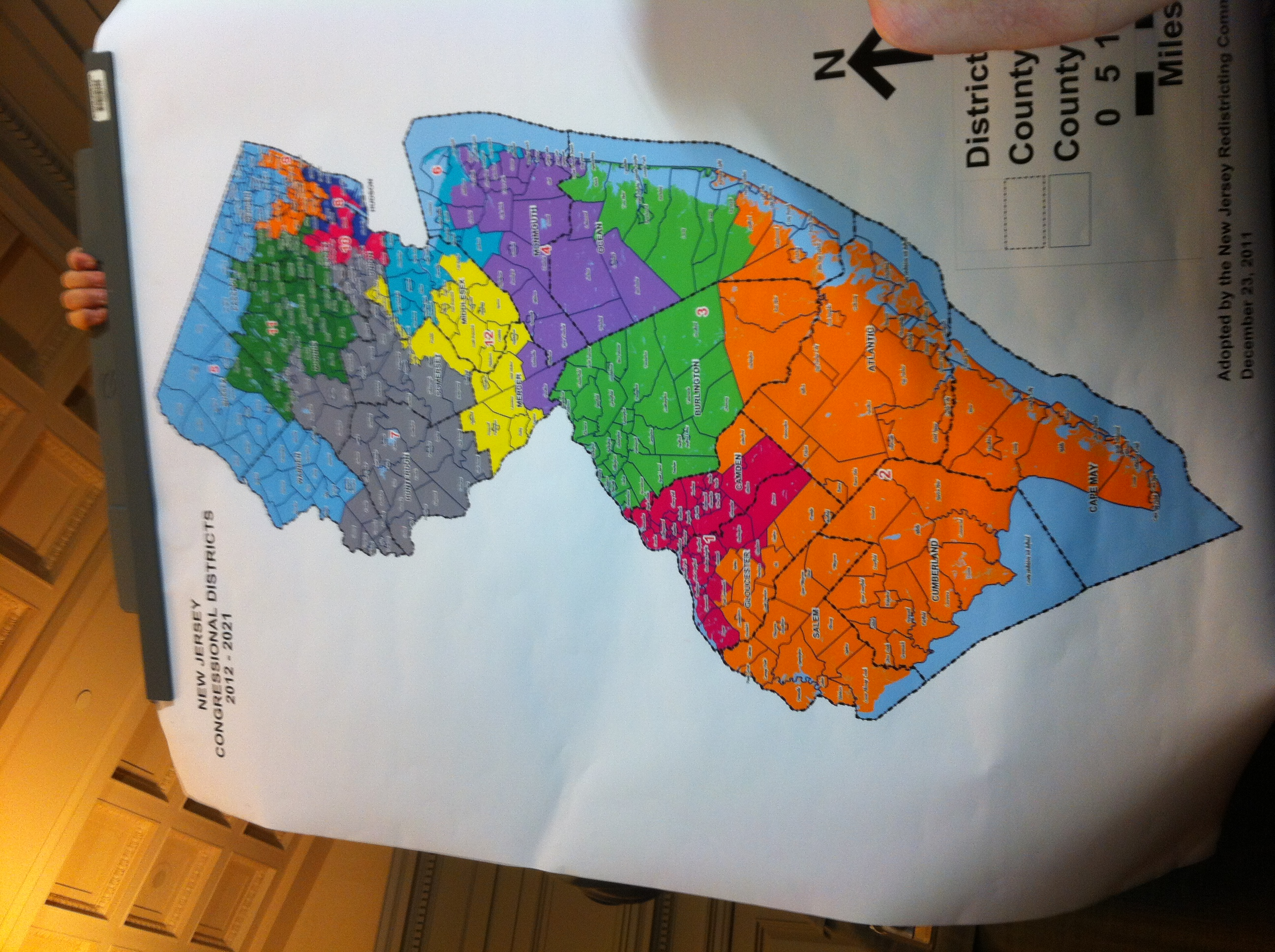 UPDATING LIVE from Redistricting: The New Map