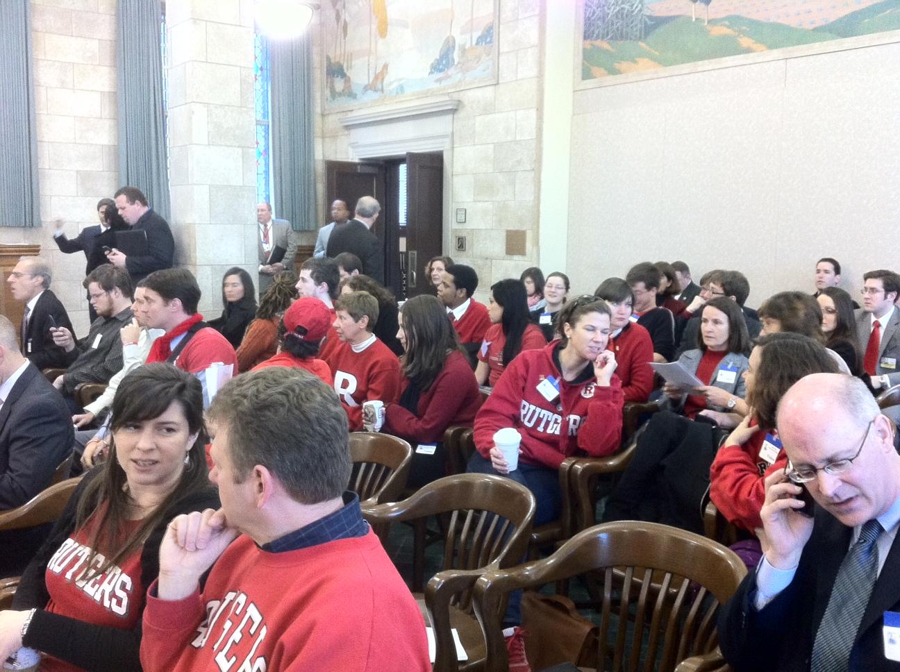 Save Rutgers: LIVE Coverage of the First Rutgers/Rowan Merger Senate Hearing