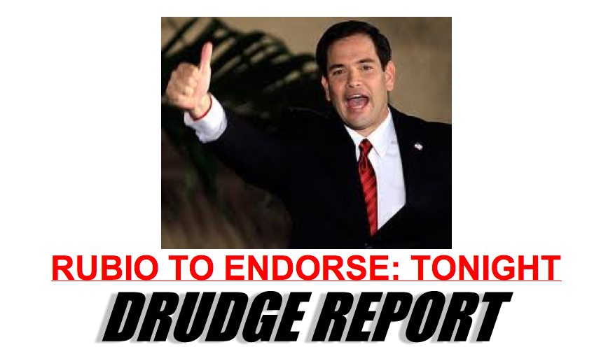 """VIDEO: Rubio Endorses Romney; Says Convention Floor Fight Would Be """"Recipe to Deliver Four More Years to Obama"""""""