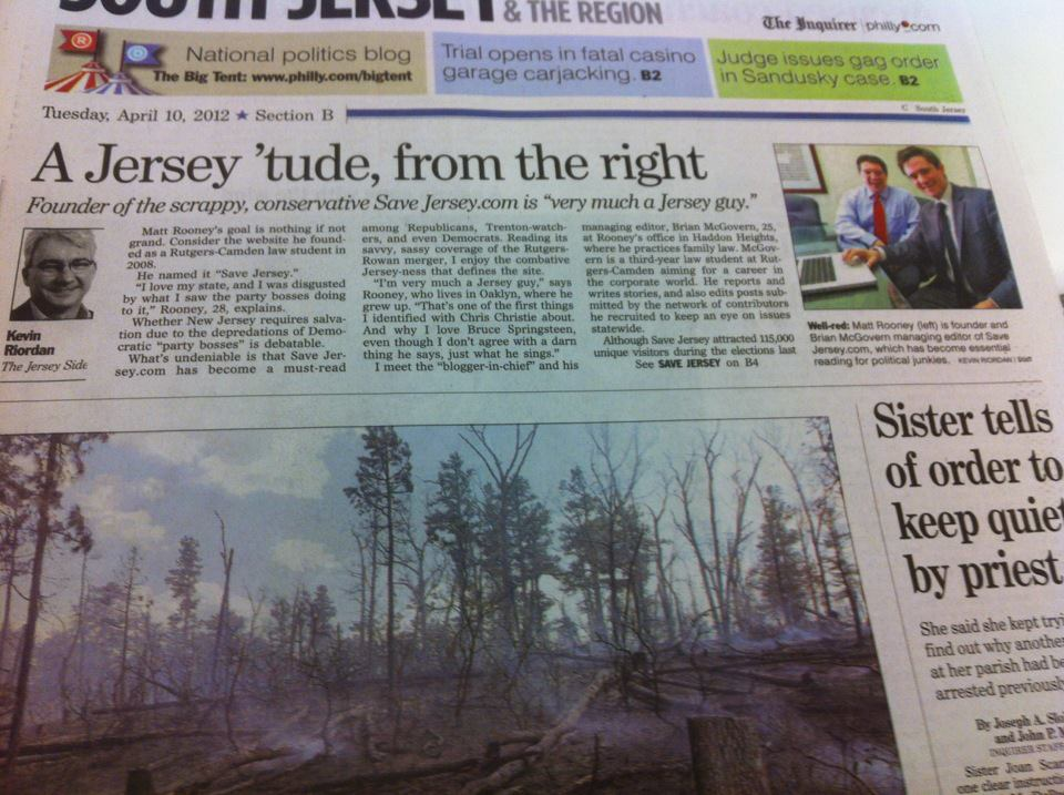 MUST READ: The Philadelphia Inquirer Profiles Save Jersey