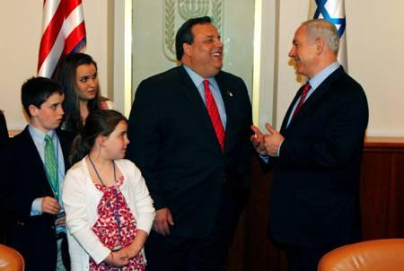 CAPTION CONTEST: Netanyahu Cracks Up @GovChristie