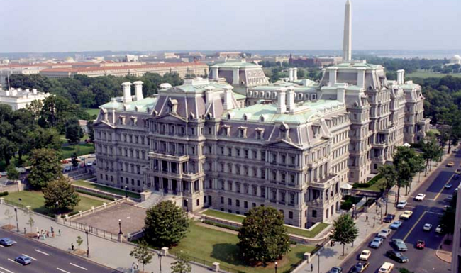 Old Executive Office Building in Washington, D.C. - location of the Vice President's office.