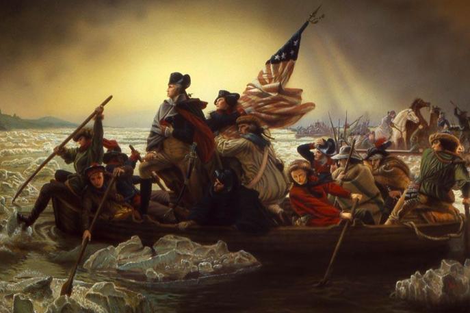 Washington's Christmas Crossing