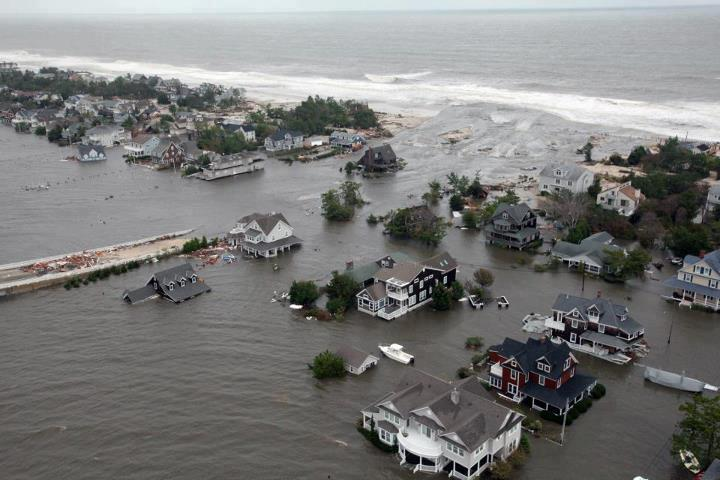 UPDATE: Some New Jersey Barrier Islands Begin to Reopen After Sandy; Fires Reportedly Rage in Mantoloking