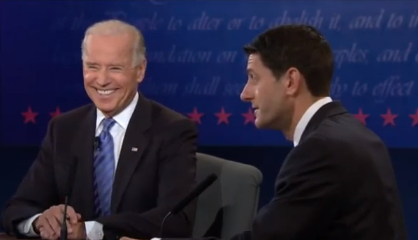 Watch the Full 2012 Vice Presidential Debate: Joe Biden vs. Paul Ryan (VIDEO)