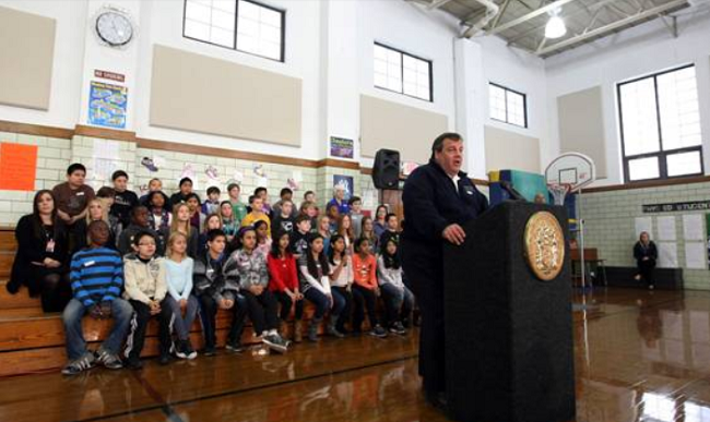 Governor Christie's November 6th Hurricane Sandy Briefing In Westwood (VIDEO)