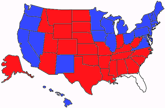 ELECTION 2012 RESULTS MAP: Obama Wins Ohio and the Presidency