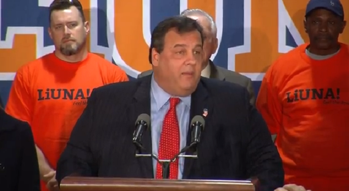 WINNING BIG: Christie Rallies Labor, Aims to Bank $2M by December 31st (VIDEO)