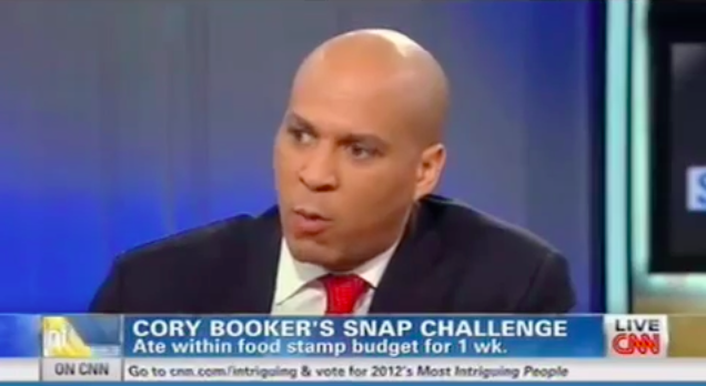Booker Holding a 13 Point Lead