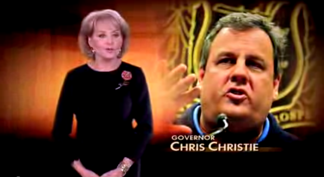 Chris Christie's Full Barbara Walters Interview (VIDEO)