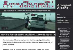 Screenshot of arrogantalbano.com