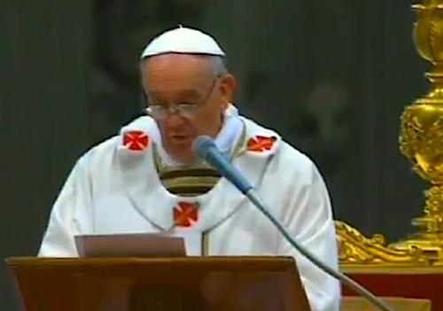 Pope Francis's Easter Vigil