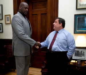 Shaq and Christie