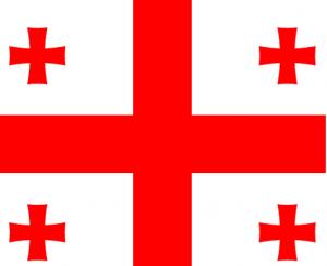 Flag of the Republic of Georgia