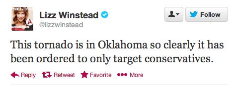 Winstead Tornado Tweet