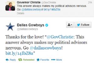 Christie Dallas Tweet