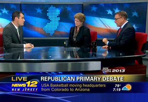 The #NJSen GOP Debate (VIDEO)