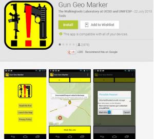 Gun Geo Marker