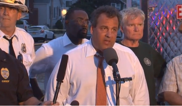 Christie at Seaside Fire