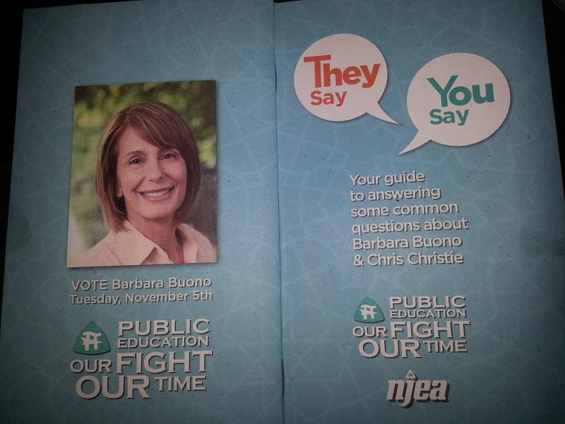 The NJEA Brainwashing Booklet