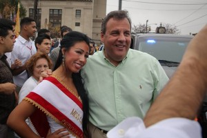 Christie at Hispanic Pride Parade