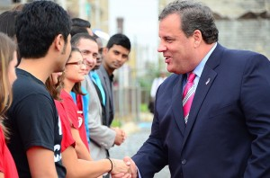christie and kids