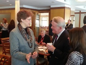 Dr. Eck chats with Rep. Leonard Lance (R-NJ07)