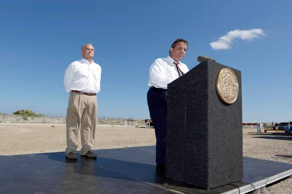 Christie: 'No' to Open Space Question