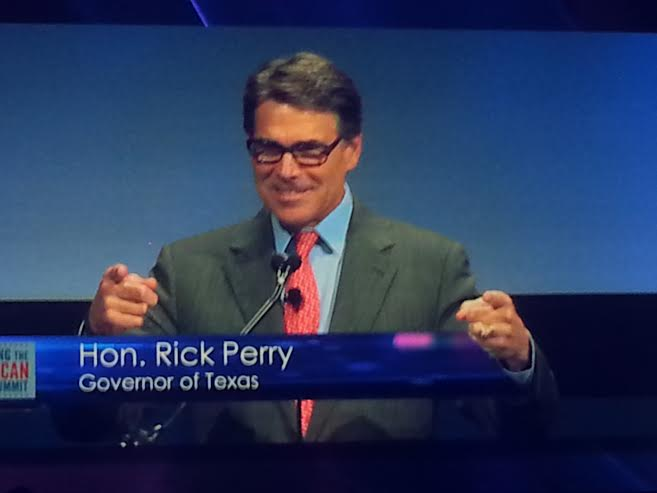 Defiant Perry Rouses 3k Strong Dallas Crowd