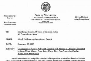 AG Hoffman's directive will help hundreds - or more - law-abiding citizens.