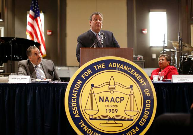 """Christie to NAACP: """"Sinners"""" in Both Parties"""