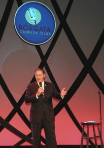 Asm. Jon Bramnick (R-Union) preforms at the Borgata.