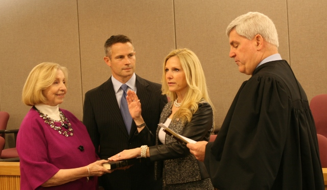 Hanlon Sworn In As Acting Monmouth County Clerk
