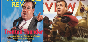 HOW TIMES CHANGE: Christie-centric National Review covers in 2010 (left) and 2015 (right)