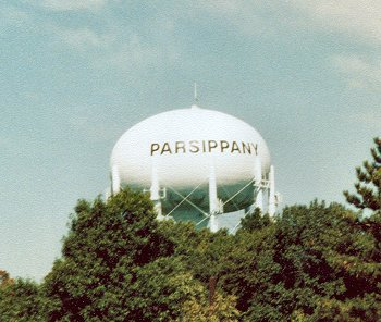 Parsippany water tower (via Facebook)