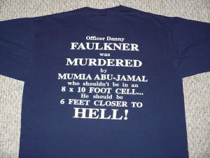 anti Mumia Abu Jamal T-Shirt