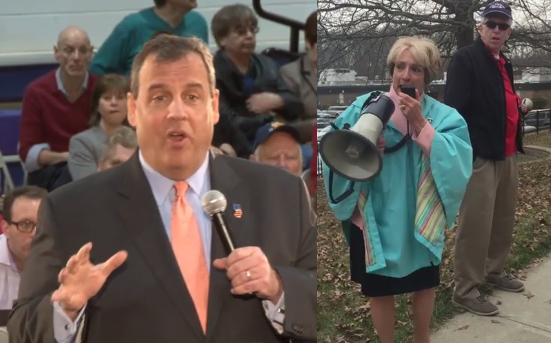 NJEA calls on Christie to resign… 'cause they want him in the White House?