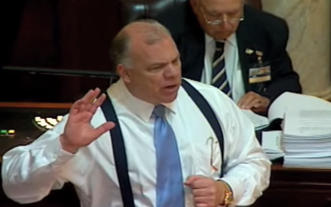 Override attempt translated: Sweeney plays politics by accusing Christie of playing politics