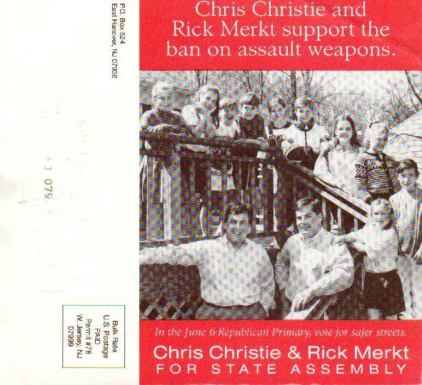 christie assault weapon mailer