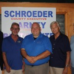 Schroeder (center) making Whelen (left) proud as a peach.