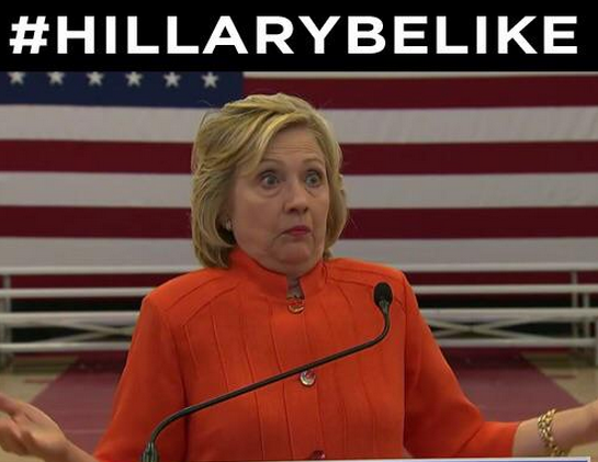 The Internet's best reactions to Hillary's disastrous #withacloth presser