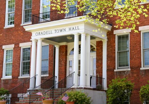 Oradell Town Hall (via www.oradell.org)
