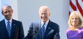 Biden passes on 2016 run