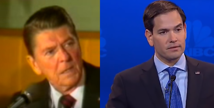 """Marco Rubio's """"I paid for this microphone"""" moment?"""