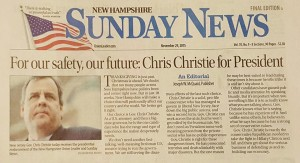 christie new hampshire